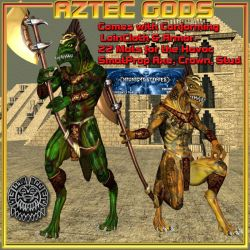 Aztec Gods for SA Havoc, by midnight_stories by FantasiesRealmMarket