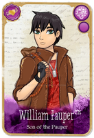 EAH: OC Card .::William Pauper::. by HakureiKai