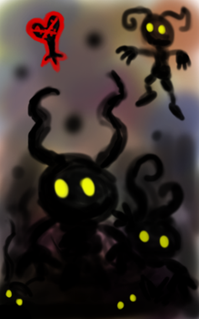 Spawn of the Heartless by Minibobini