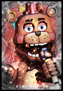 Rock-Star-Freddy-poster. by Geta1999