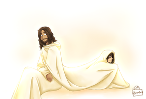 Covered in His Righteousness by riceXyummy