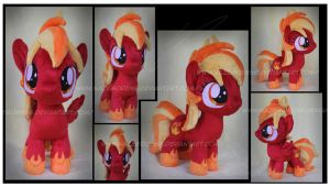 Commission: Blaze Gust Custom Plush by Nazegoreng