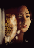Katniss Speedpaint by jeminabox