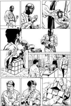 Homicide - Page 4 (inks) by DavidAspmo