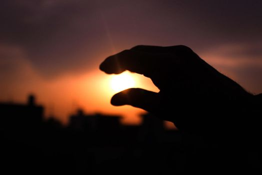 Power of the Sun in the palm of my hands by N-95
