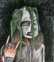 #8 from Slipknot by StitchFanPL