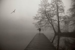 thoughts fly away by BelcyrPiotr