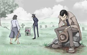Death of Lupin by MSprinkleZ