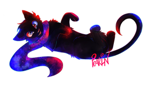 Space Cat, Volume II: Transparent BG by Pearin