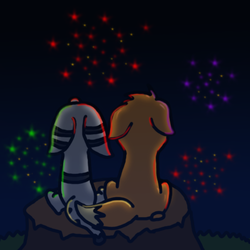 Weekly Pic 42: Bonfire Night by Speedre