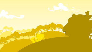 Fluttershy's Naturerific Wallpaper by PhilipTomkins