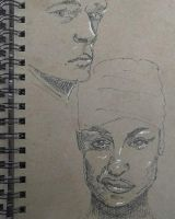 Faces from sketchbook by fserb