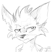 Killian - Headshot Sketch Commission by JB-Pawstep