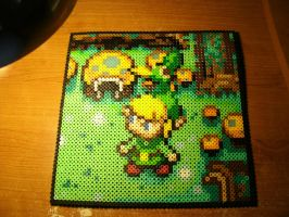 Perler Beads - Minish Cap by Piranhartist