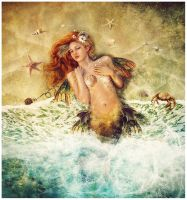 Washed Ashore_censored version by GingerKellyStudio