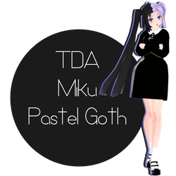 +708 Watchers .:TDA Miku Pastel Goth + DL:. by Espirea