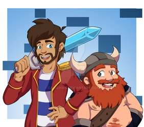 The Yogscast by Ca-cchan