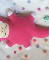 Slowpoke Commison Plush