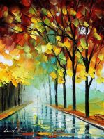 Reflections 2 by Leonid Afremov by Leonidafremov