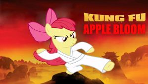 Kung Fu Apple Bloom by normanb88