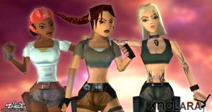 Tomb Raider Classic Style/ Pack 1 Legend - XNA/XPS by Zellphie