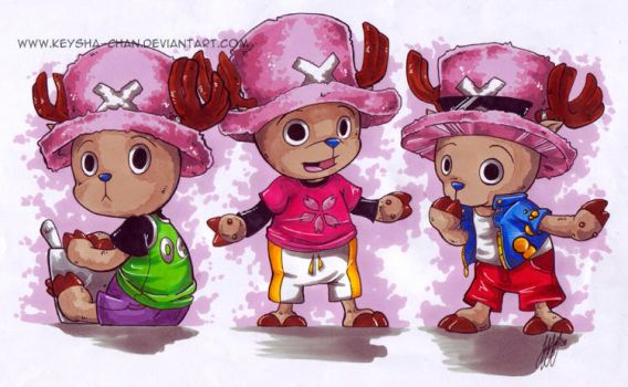 Chopper Fashions by KeyshaKitty