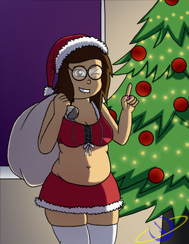 Happy Holidays from Sabrina! by The-Happy-Spaceman