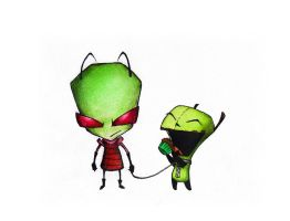 INVADER ZIM by xbooshbabyx