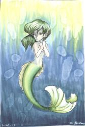 Mermaid - Playing with Color by TheLadyYuki