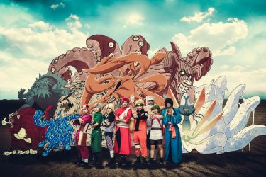 9 Tailed Beasts (naruto) by ducmu