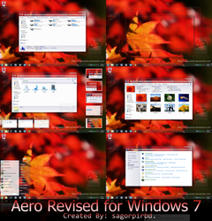 Aero Revised for Windows 7 by sagorpirbd