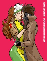 Rogue and Gambit by Inspector97