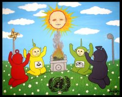 Teletubbies by Pascalism