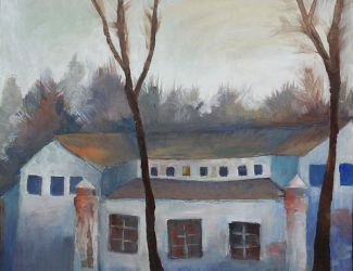 Another old house painting by G-Avoyan