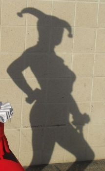 Harley Quinn Silhouette by theprincessbee