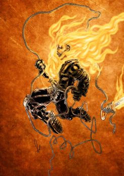 Ghost Rider SoV Chain colored by azzh316