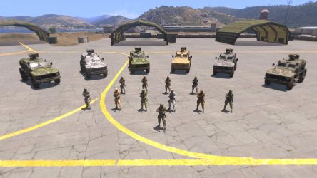 Partisan Camouflage Arma 3 faction by pip-pip-rah