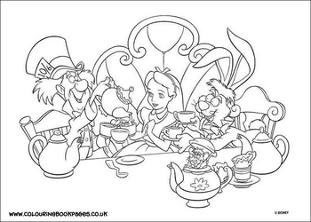 Tea Party by Writer-Colorer