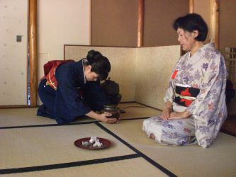 Japanese tea ceremony by lolicaor805