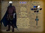 Reference Sheet - Kain by Dungeon-Spirit
