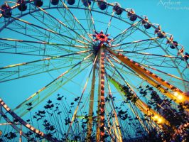 Giant wheel by Chacka-Lacka