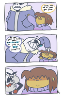 i can't believe you've done this sans by BunChum