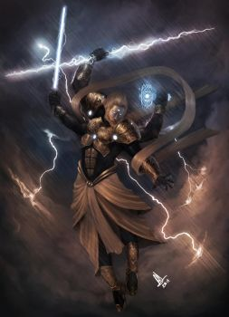 Indra: King of Gods by molee