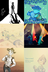 8tracks mix covers - Jan-Mar 2015 by MoonyDash