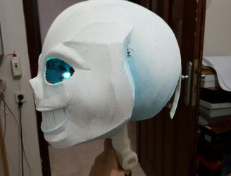 Sans Head (Cosplay) by VincitoreCosplay