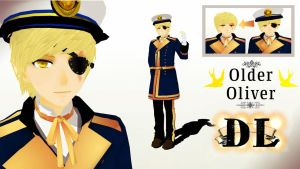 MMD Older Oliver DL by PrincessSushiCat