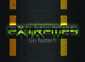 Awesome text effect template [PSD] by EXtreme-S