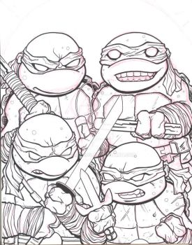TMNT by MARR-PHEOS