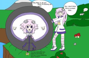 Poorly thought title about HDN inflation art by NepuOfInflation