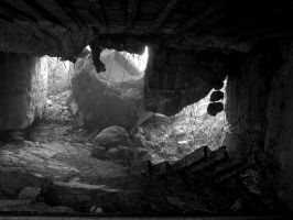 Destroyed German Bunker - Longues by UdoChristmann